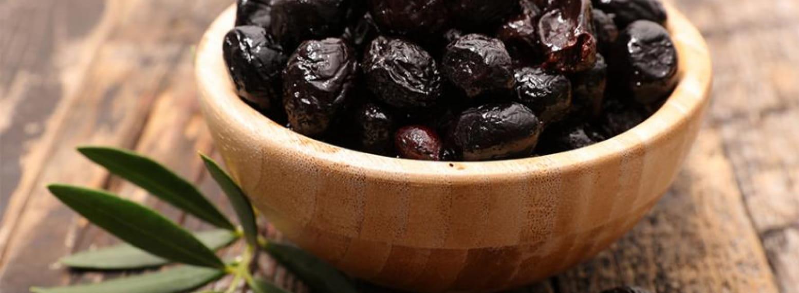 Les Olives noires au sel