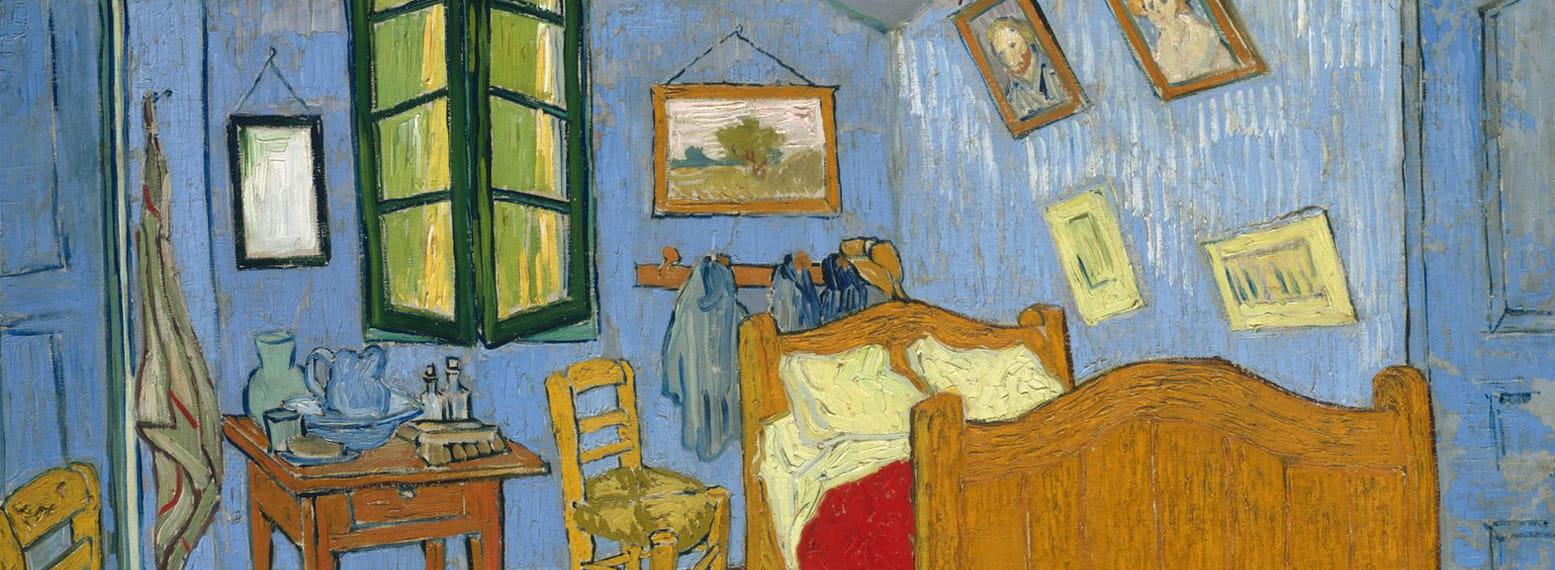 Chambre de Van Gogh à l'hôpital Saint-Pau de Mausole