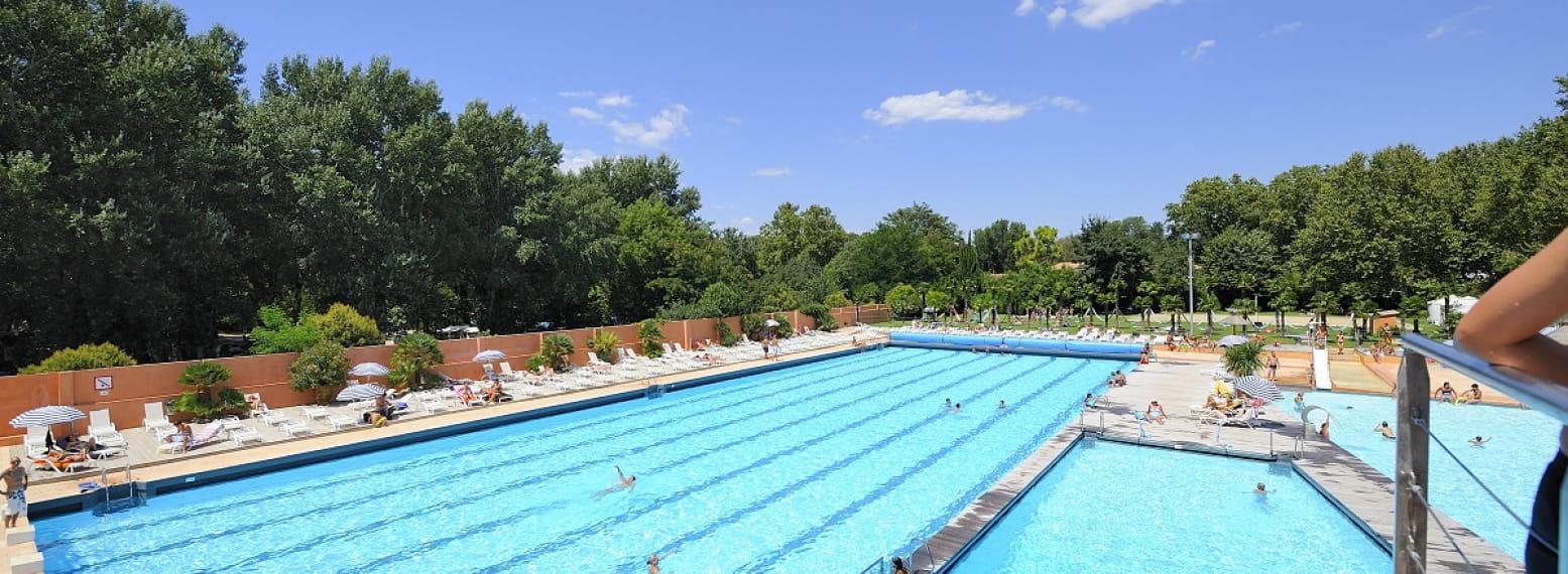 La Palmeraie à Avignon, piscine olympique