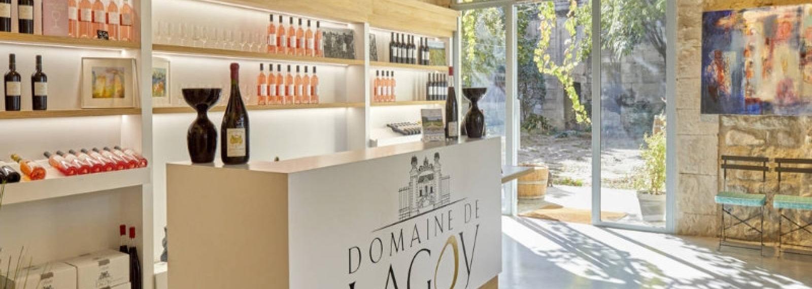 La boutique du Domaine de Lagoy