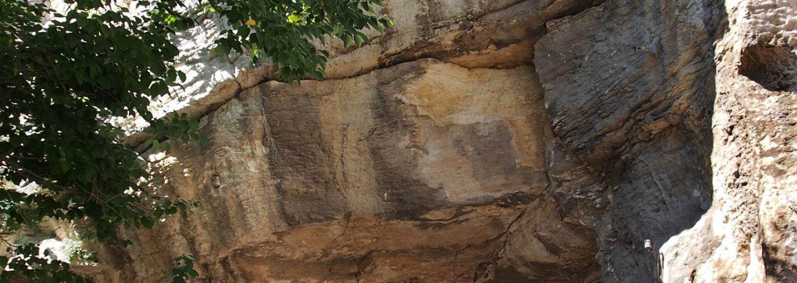 Quartier Le Planet - ancienne carrière de pierre de Fontvieille