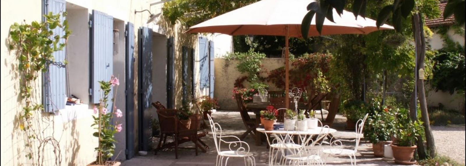 Chambres d'hôtes Au Mas de la Menouille à Saint-Rémy-de-Provence