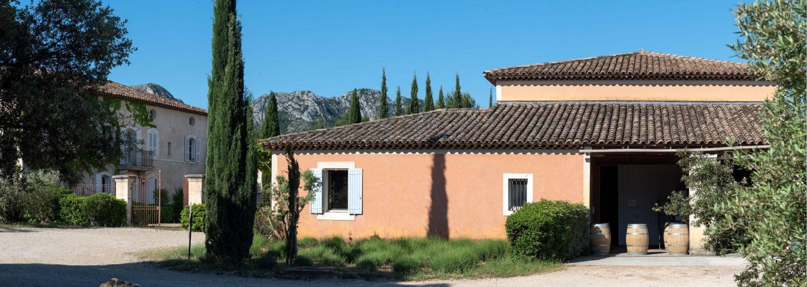 Domaine d'Eole, vignoble à Eygalières
