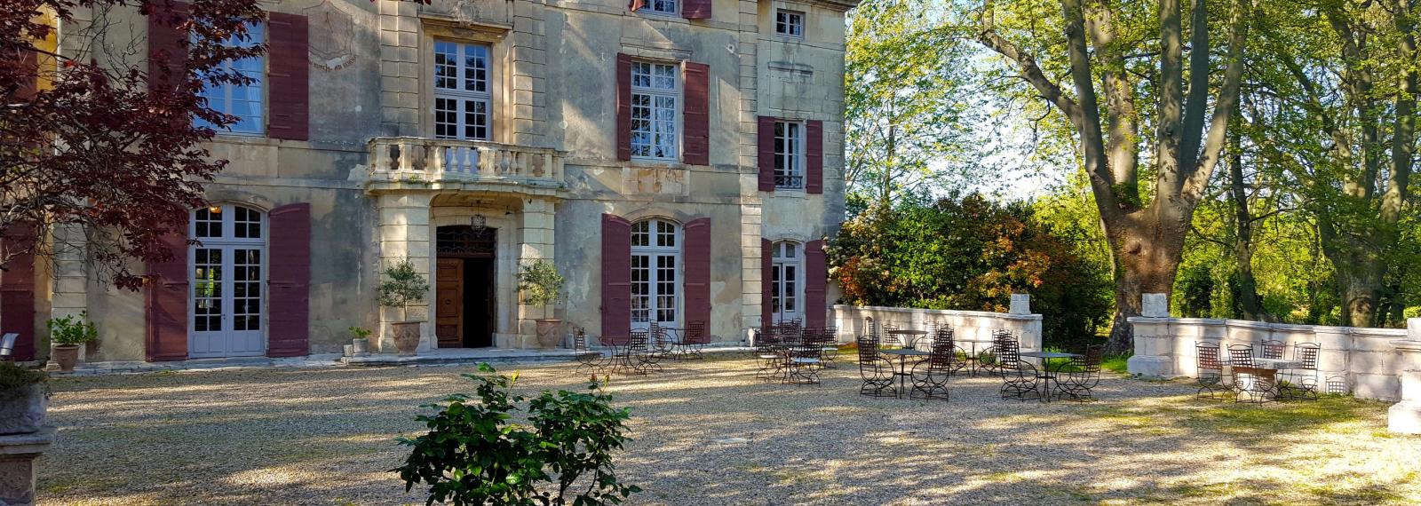 Château de Roussan à Saint-Rémy-de-Provence