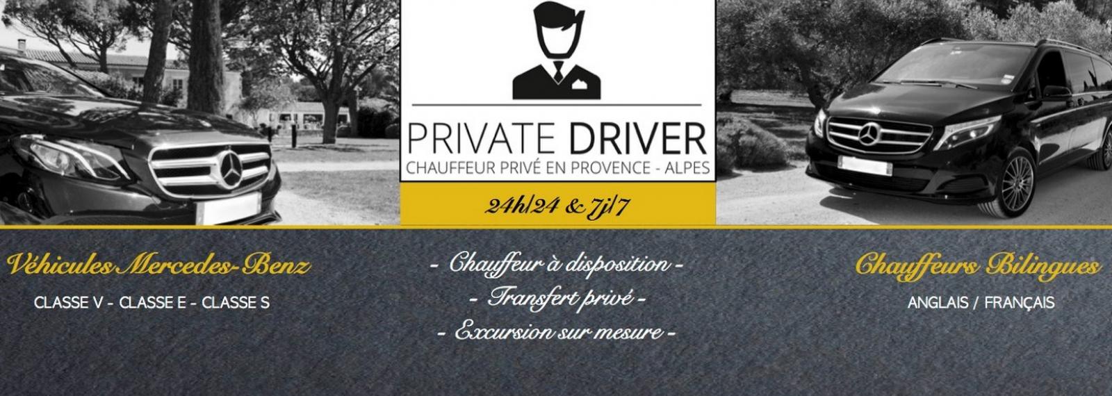 Private DRIVER VTC à Saint-Rémy-de-Provence