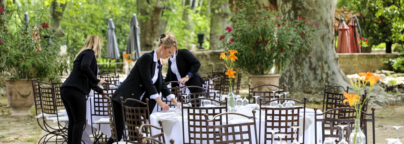 Restaurant La Belle Diane au Chateau de Roussan