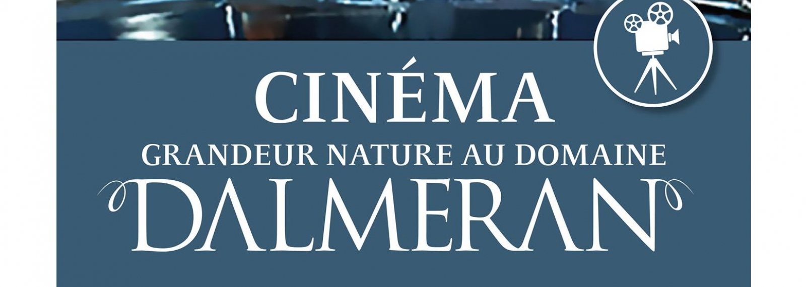 Cinéma au Domaine de Dalmeran à Saint-Étienne-du-Grès