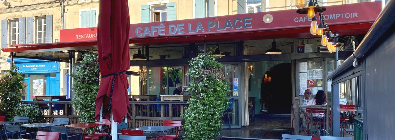Café de la Place à Saint-Rémy-de-Provence