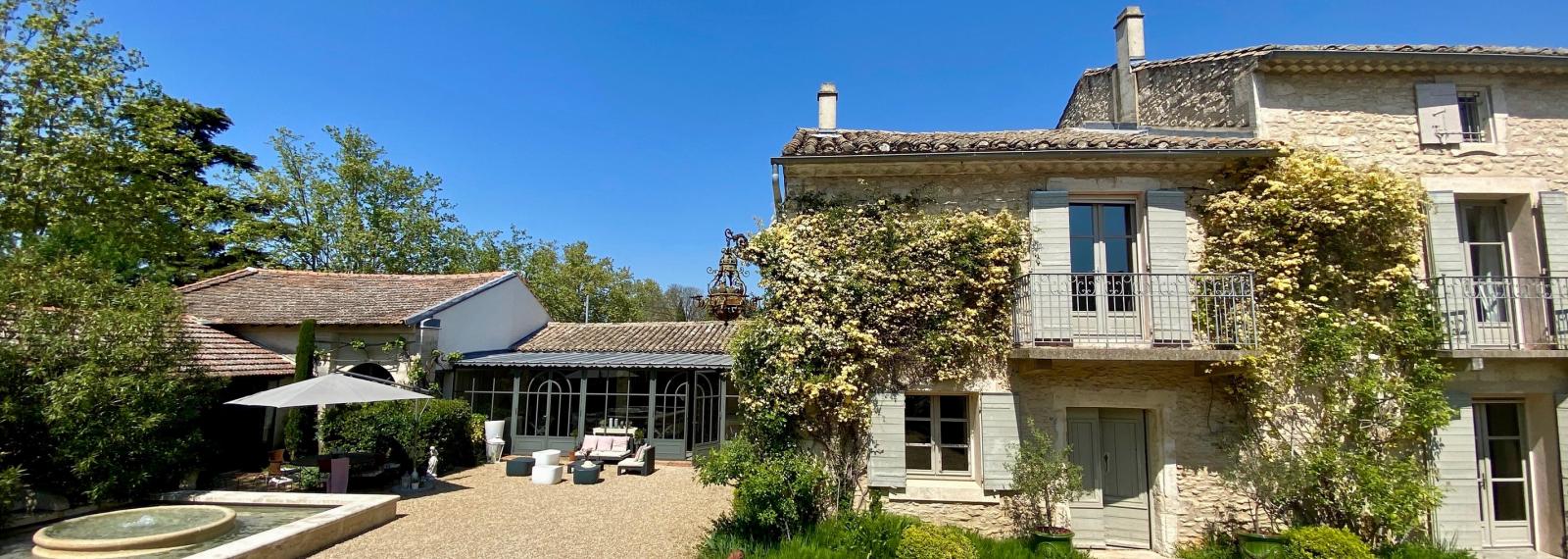 Chambres d'hôtes La Maison de Line à Saint-Rémy-de-Provence