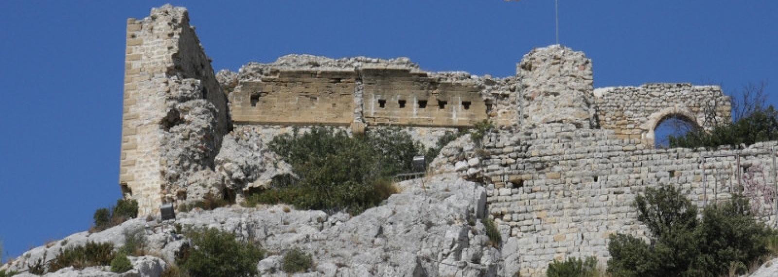 Les ruines du Castellas