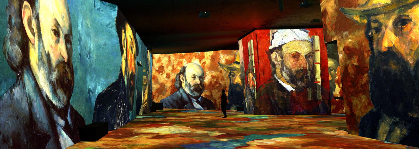 Cézanne - Kandinsky - Carrière de Lumières