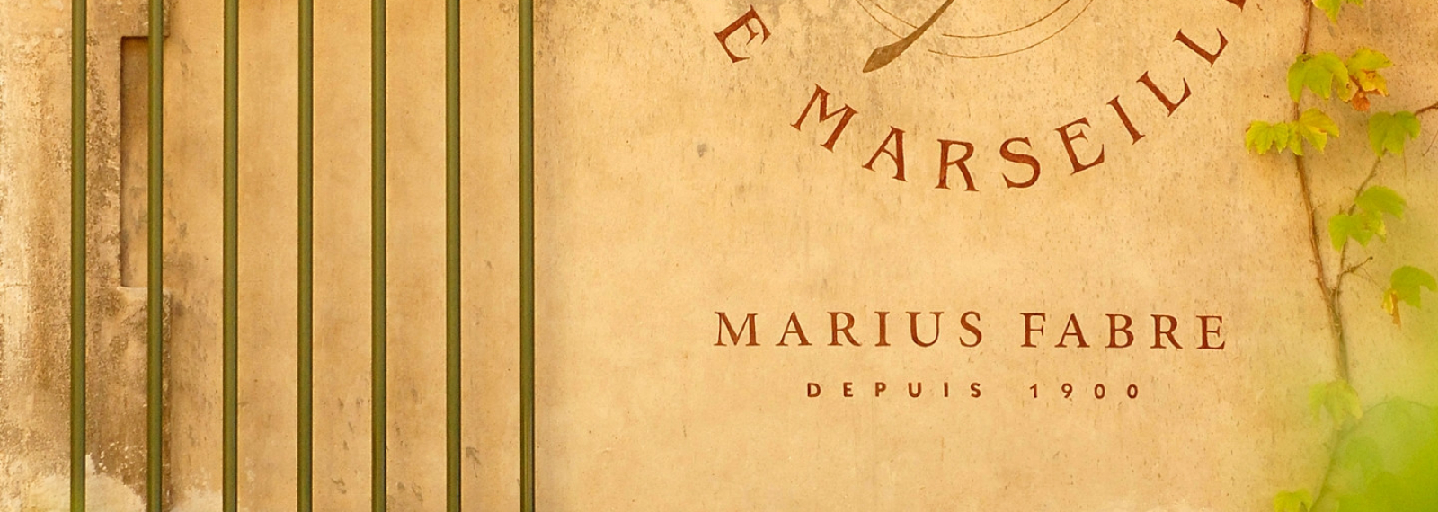 Musée du savon de Marseille. Marius Fabre