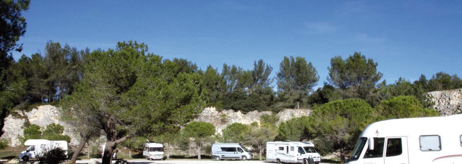 Aire de stationnement camping-car 'Les Moulins'