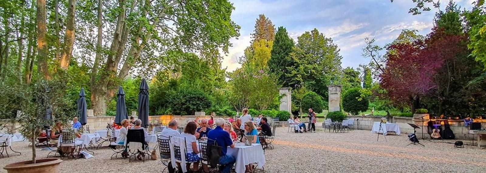 Concert Brasil Lounge & Dîner au Château de Roussan à Saint-Rémy-de-Provence