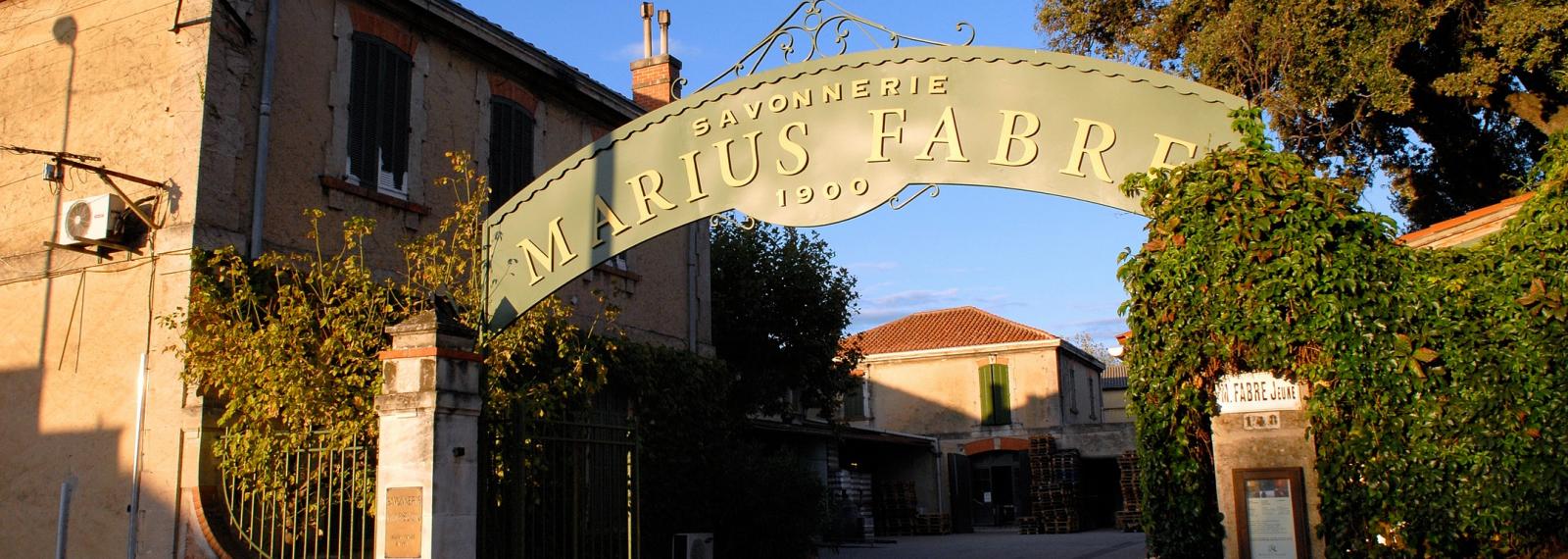 Savonnerie Marius Fabre à Salon-de-Provence