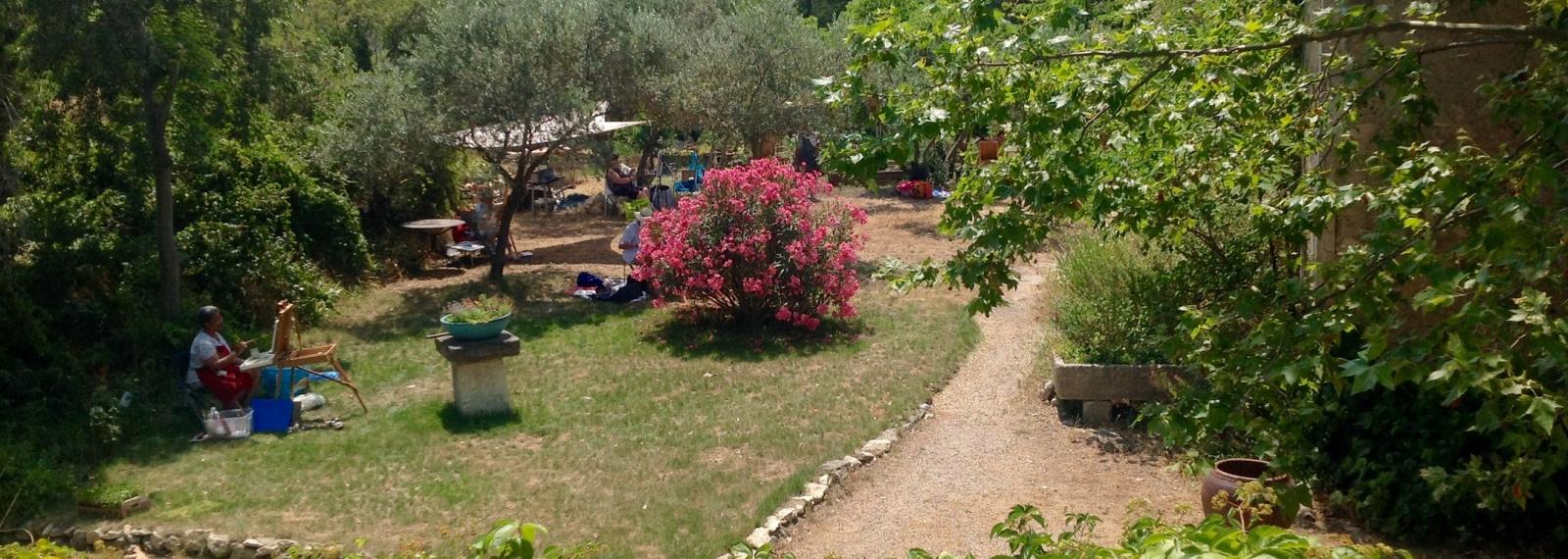 Location saisonnière Mas des Trois Cyprès à Saint-Rémy-de-Provence
