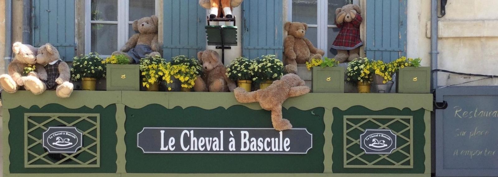 Le Cheval à bascule Saint-Rémy-de-Provence