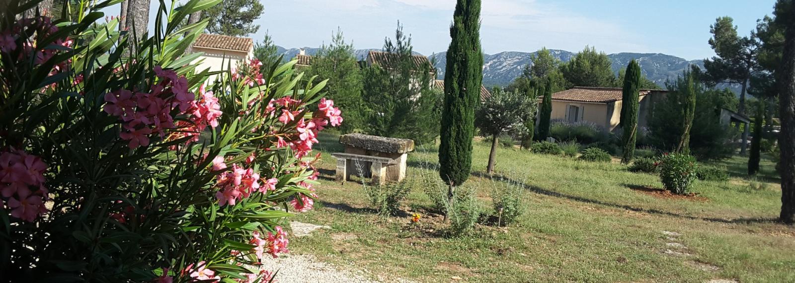 Location saisonnière Mas Clair de Lune à Saint-Rémy-de-Provence